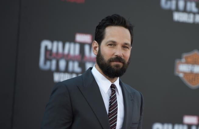 Captain America: Civil War, Paul Rudd durante l'anteprima del film