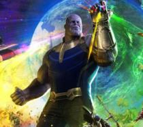Un artwork ufficiale di Avengers: Infinity War