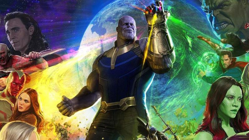 Un artwork ufficiale di Avengers: Infinity War
