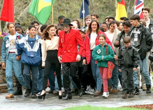 Michael Jackson al Neverland Ranch