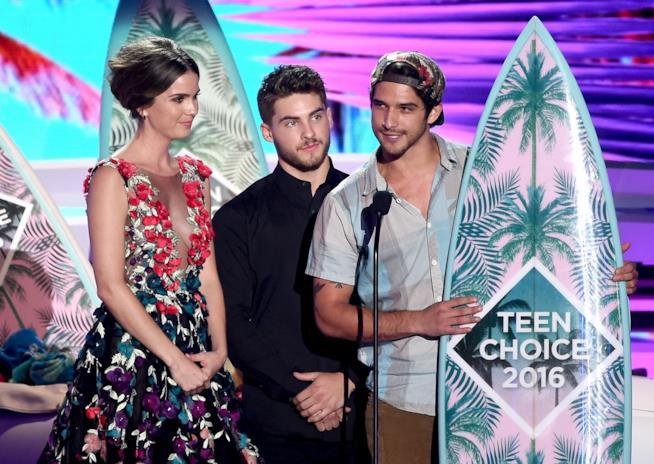 Shelley Hennig, Cody Christian e Tyler Posey ai Teen Choice Awards 2016