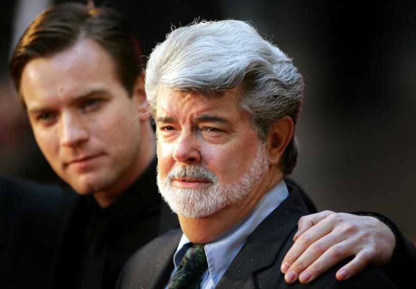 Ewan McGregor e George Lucas