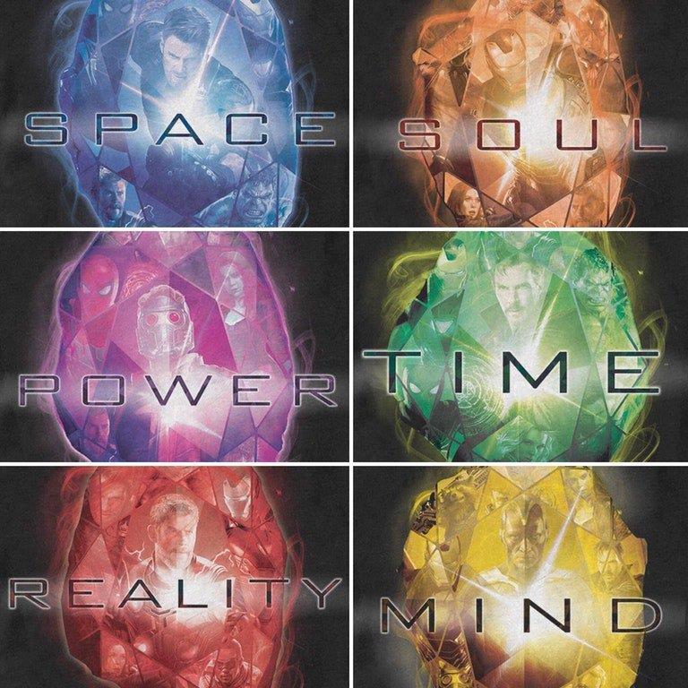 Le Gemme dell'Infinito sono legate a 6 eroi Marvel