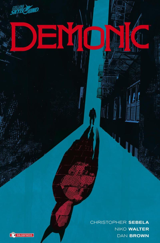 Demonic, copertina della nuova graphic novel saldaPress