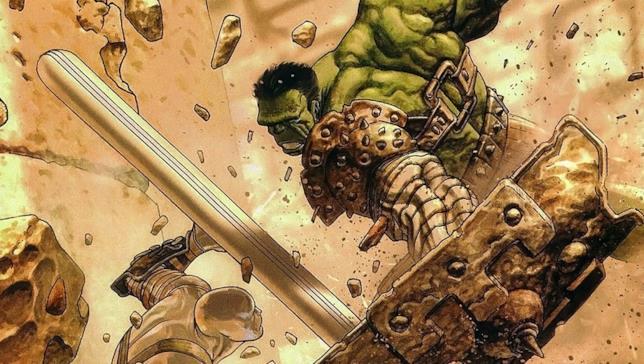 Un'immagine di Planet Hulk