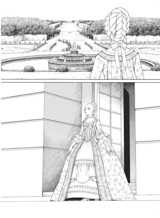 Maria Antonietta e Versailles nel manga di Fuyumi Soryo