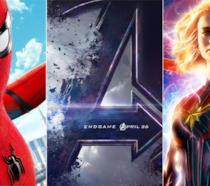 Spider-Man: Far From Home, Avengers: Endgame, Captain Marvel