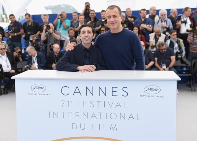 Matteo Garrone e Marcello Fonte a Cannes
