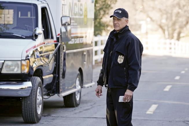 Mark Harmon mentre interpreta GIbbs in NCIS