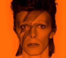 Particolare della locandina del docufilm David Bowie Is