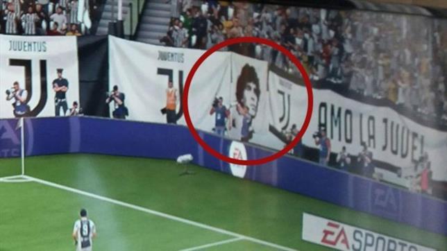 La gaffa di FIFA 18 su Maradona