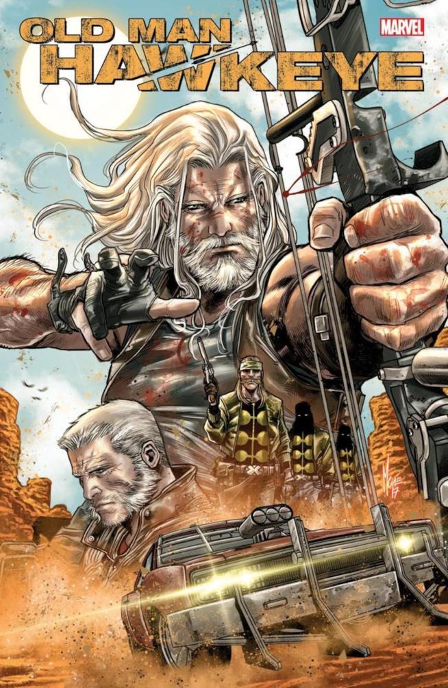 Marco Checchetto firma la cover di Old Man Hawkeye