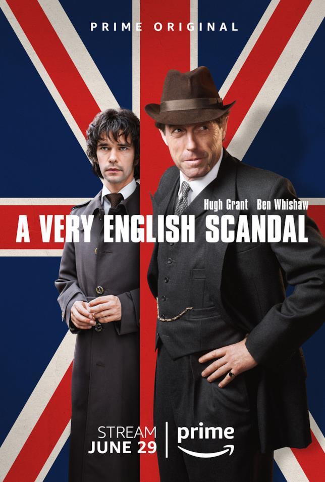 La locandina ufficiale della serie con Hugh Grant