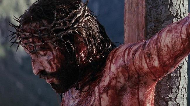 Scena Crocifissione in La passione di Cristo