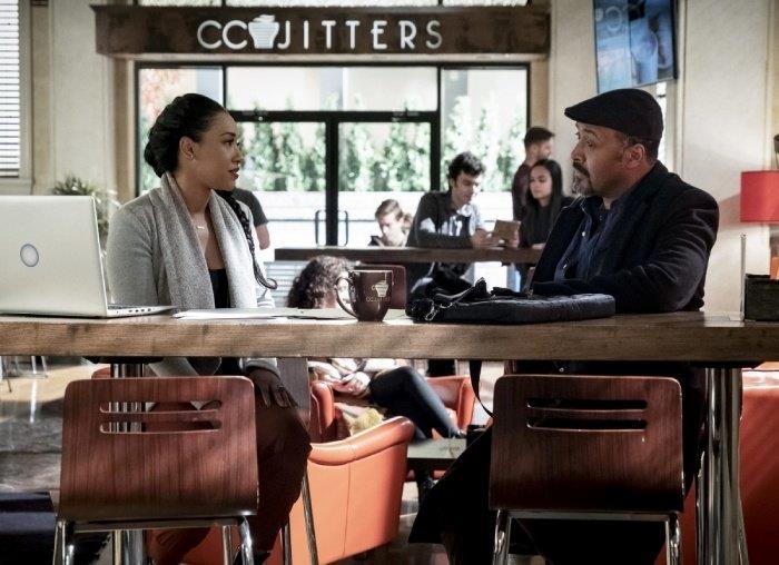 Una pausa caffé per Joe e Iris?
