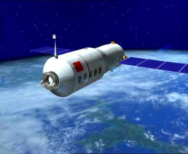 Com'er ora la stazione spaziale Tiangong-1