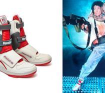 Le scarpe di Reebok e Ripley nel film Alien