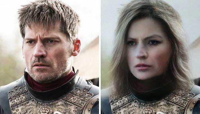 Jaime Lannisterr in versione femminile