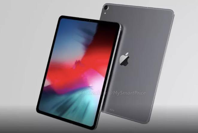 Mock-up di iPad Pro 2018