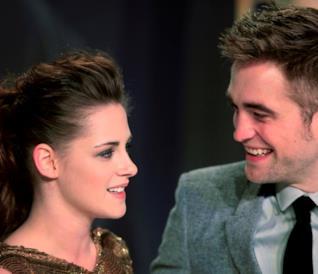 Kristen Stewart e Robert Pattinson durante la loro storia