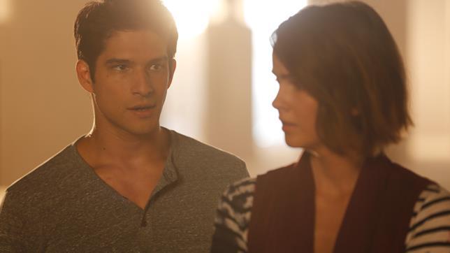 Scott e Malia in Teen Wolf