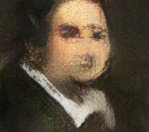 Il ritratto realizzato da un'IA intitolato Edmond de Belamy
