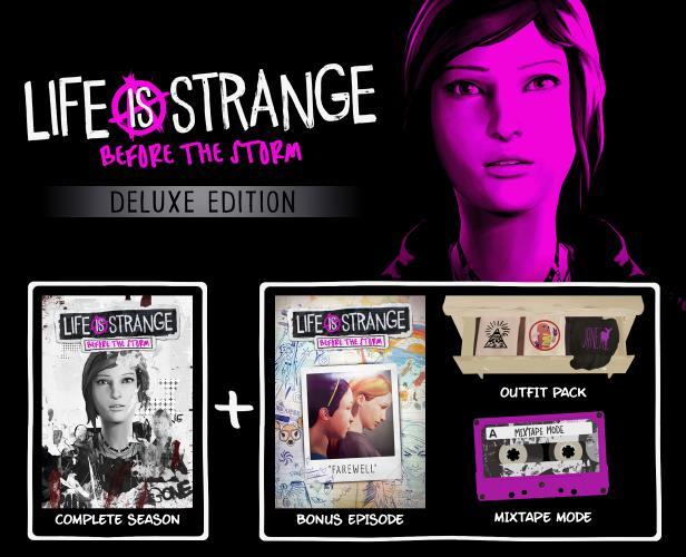 Tutti i contenuti della Deluxe Edition di Life Is Strange: Before The Storm