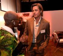 Brad Pitt agli Oscar Luncheon 2020