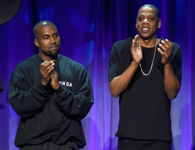 Kanye West e Jay-Z insieme sul palco