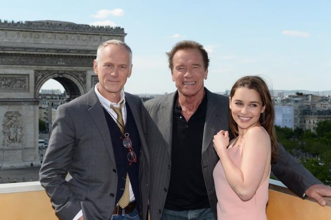 Alan Taylor, Arnold Schwarzenegger ed Emilia Clarke
