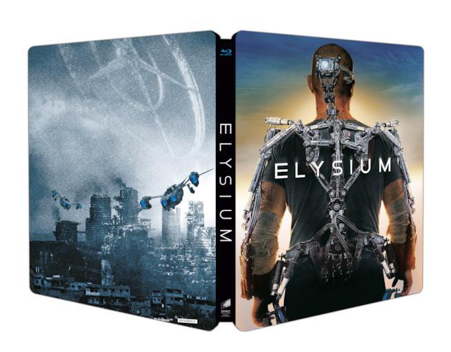 Cover di Elysium in versione steelbook