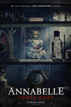 La bambola Annabelle nel teaser poster del terzo dei film a lei dedicati