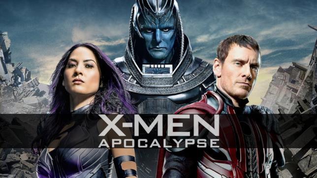 X-Men: Apocalisse, la locandina