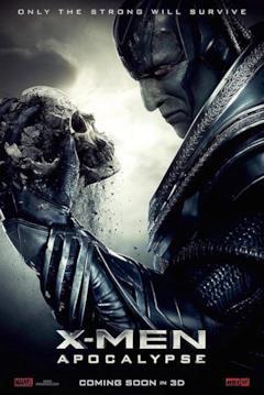 Un poster del film con il primo piano di Apocalisse