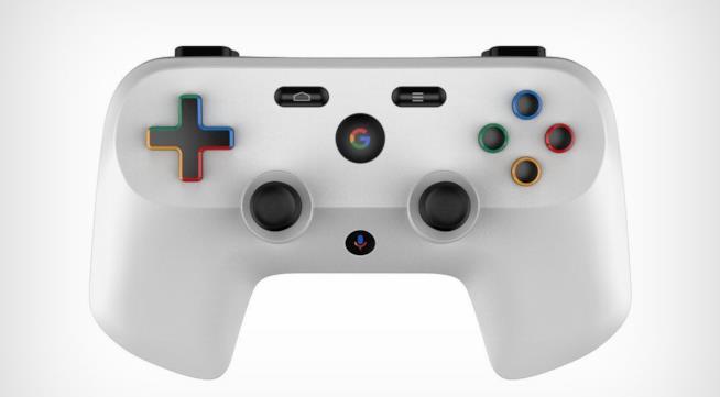 Il concept del controller di Google realizzato da Reps