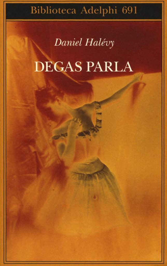 La copertina di Degas parla