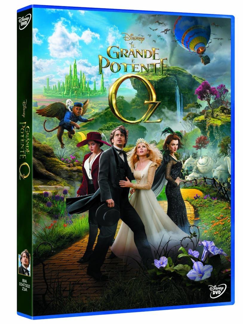 Il Grande e Potente Oz, la cover della versione DVD