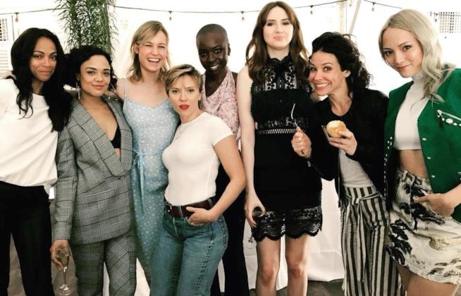 Le donne del MCU riunite per un brunch