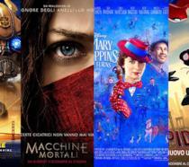 I poster di Bumblebee, Macchine Mortali, Il ritorno di Mary Poppins, Spider-Man - Un nuovo universo