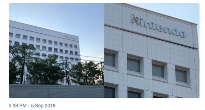 La sede centrale di Nintendo danneggiata dall'uragano