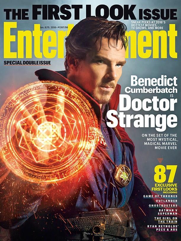 Benedict Cumberbatch è Doctor Strange in copertina su Entertainment Weekly