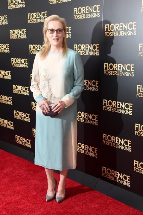 Meryl Streep alla prima di Florence Foster Jenkins