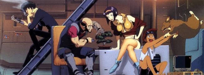 I personaggi dell'anime cult Cowboy Bebop firmato Shin'ichirō Watanabe