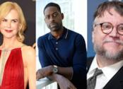 Nicole Kidman, Guillermo del Toro e Sterling K. Brown