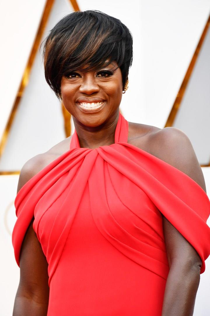 Viola Davis - Cool Oscars Dress