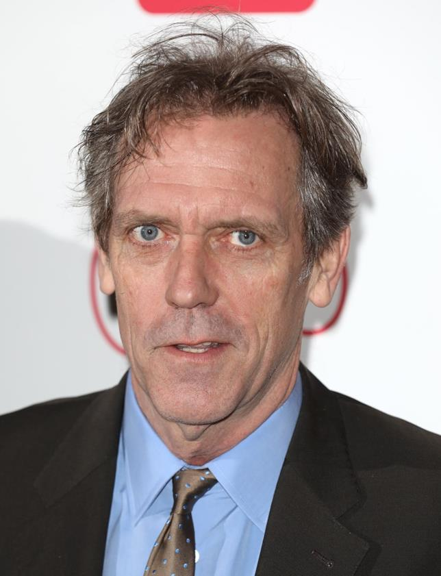 Hugh Laurie in primo piano