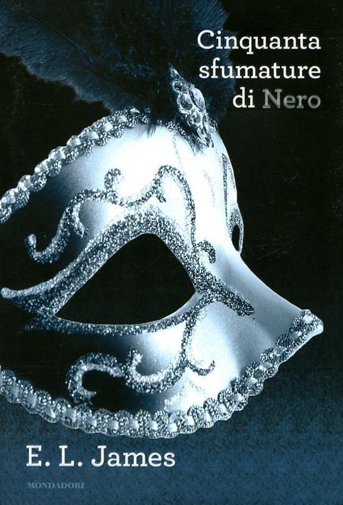 La copertina di Cinquanta sfumature di nero