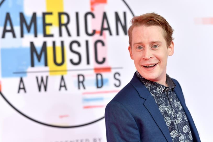 Macaulay Culkin agli American Music Awards