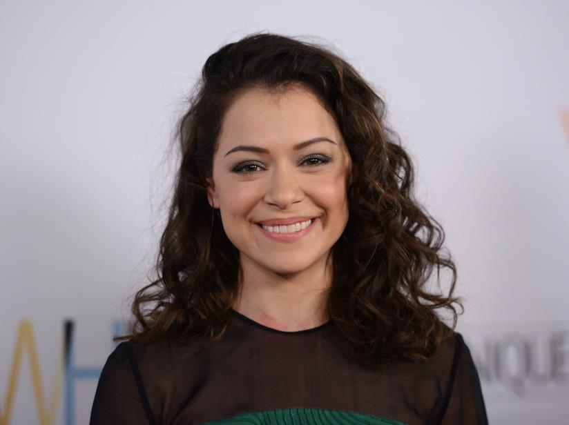 L'attrice canadese Tatiana Maslany, protagonista di Orphan Black