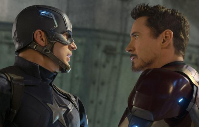 Captain America e Tony Stark